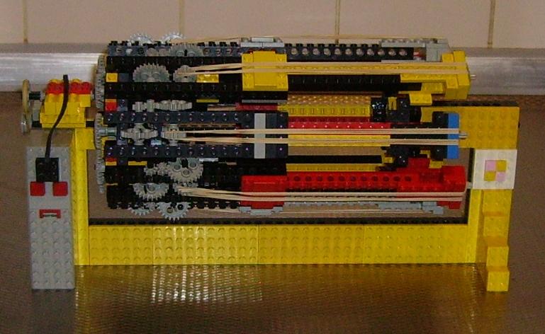 Lego machine gun
