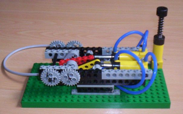 LEGO Steam Engine, Pneumatic motor
