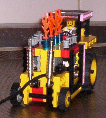 Kleurplaten Tractor Pulling.Lego Tractor Pulling